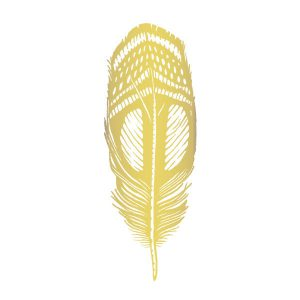 Quail Feather Gold