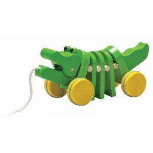 Tanzender Alligator