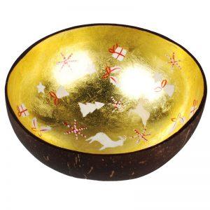 Coconut Bowl Scherenschnitt