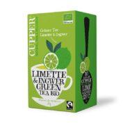 Grüntee Limette+Ingwer