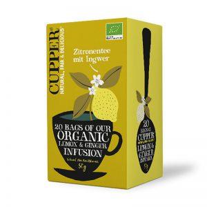 Zitrone mit Ingwer