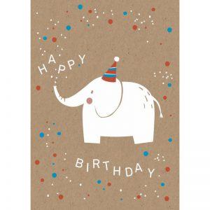 Elefant Happy Birthday