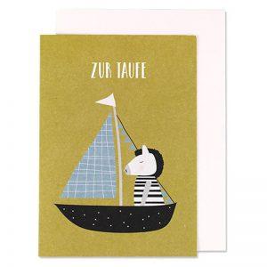 Zebra - zur Taufe