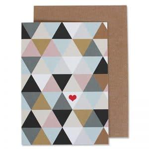 Dreiecke mit Herz
