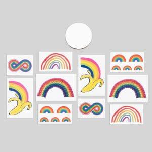 The Tiny Rainbow Tin