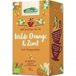 Wilde Orange und Zimt
