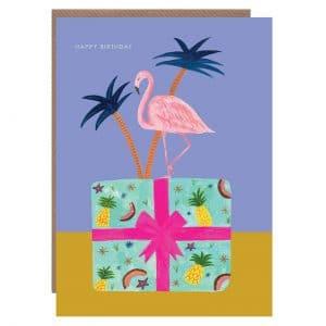 Flamingo on Present