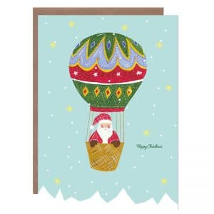 Xmas Santa on Balloon
