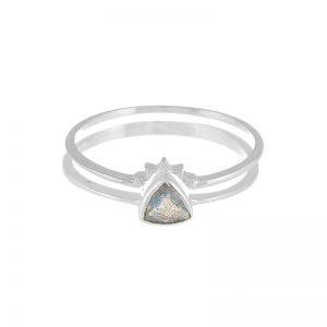 Triangle Labradorite