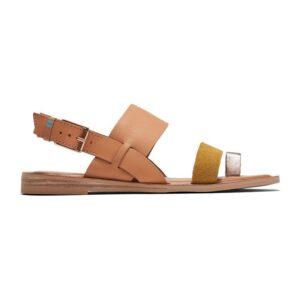 Freya Honey/Amber Gold Leather