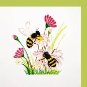 Bluemenwiesen mit Bienen