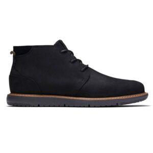 Navi Black Leather
