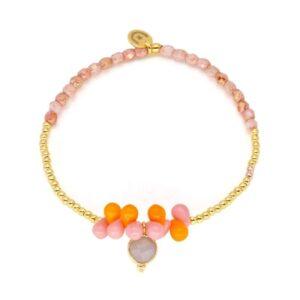 Drops Pink Orange