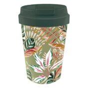 """Coffee To Go Becher """"Leaves"""" von Bioloco"""