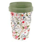 """Coffee To Go Becher """"Flowers and Birds"""" von Bioloco"""