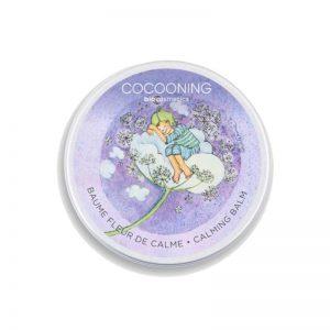 Calming der Balsam von Cocooning in einer wunderschön illustrierten Dose