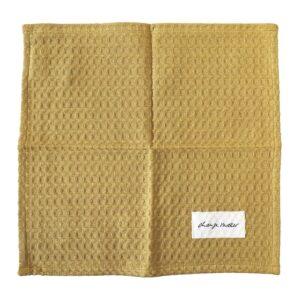 Robustes mit Bio Baumwolle hergestellter Waschlappen